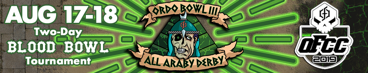 Ordo Bowl III: All Araby Derby