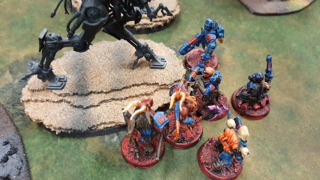 April Game vs Admech 2 10th Marauder Squad Holding Down Assault Walkers.jpg