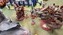 April Game s Admech 2 Flavors of Chaos, Daemon Prince, R&H Infantry, and Daemon Engines.jpg
