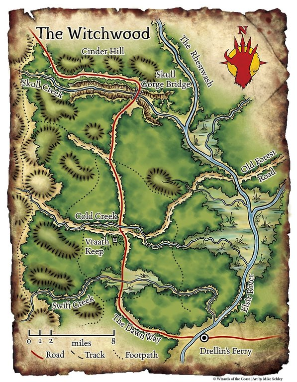 The-Witchwood-Player-Map-Drellins-Ferry-and-The-Dawn-Way-plus-Elsir-River-Red-Hand-of-Doom-Adventure-Module-Map-Set-DD-DND-Dungeons-Dragons-Pathfinder-300dpi6.jpg