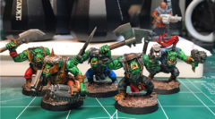 Contrast Painted Boyz