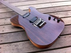 "demonx/Searls Guitars, ""Darkhorse"""