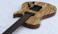 "simo, ""Spalted Maple Singlecut"""