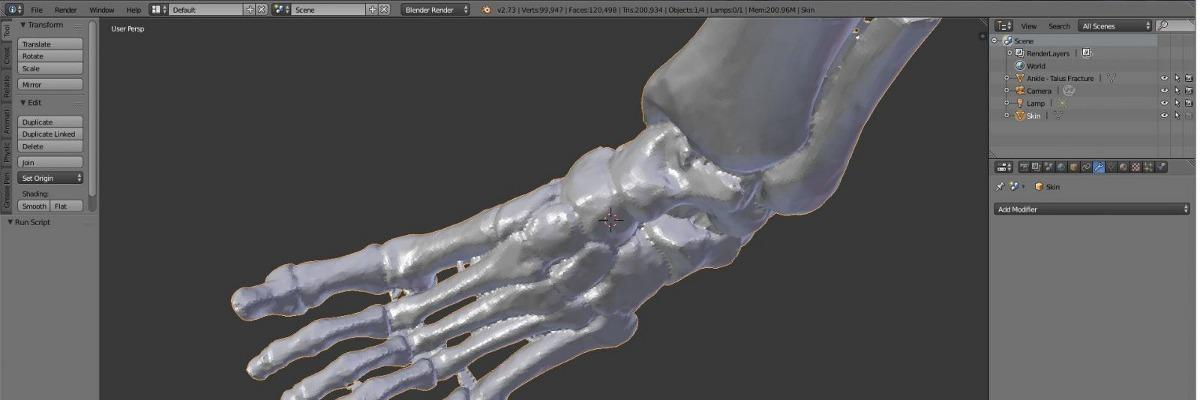 slider tutorials foot.