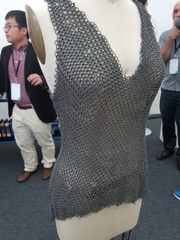 Chain mail dress printed on Fuse 1