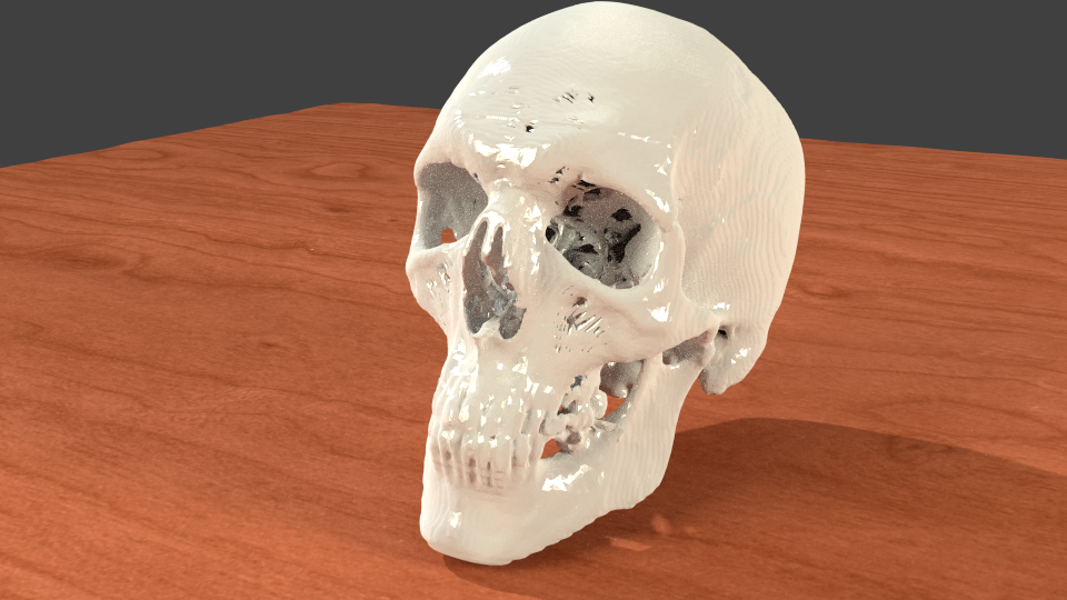 A Collection of Free Skull Medical Model STL Files from CT Scans - Ready for 3D Printing