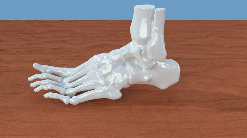 3D Printing of Bones from CT Scans: A Tutorial on Quickly Correcting Extensive Mesh Errors using Blender and MeshMixer