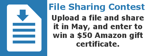 File Sharing Contest Winner for May 2017