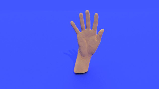 Create a 3D Hand Model and Other Models with STL Files