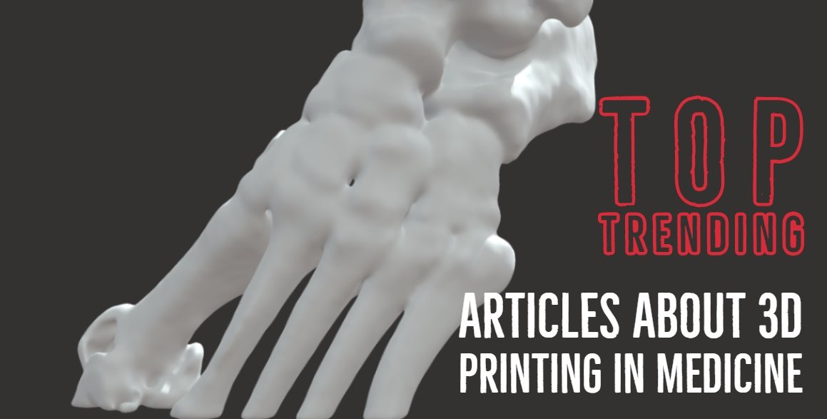 Today's top trending articles about 3d printing in medicine