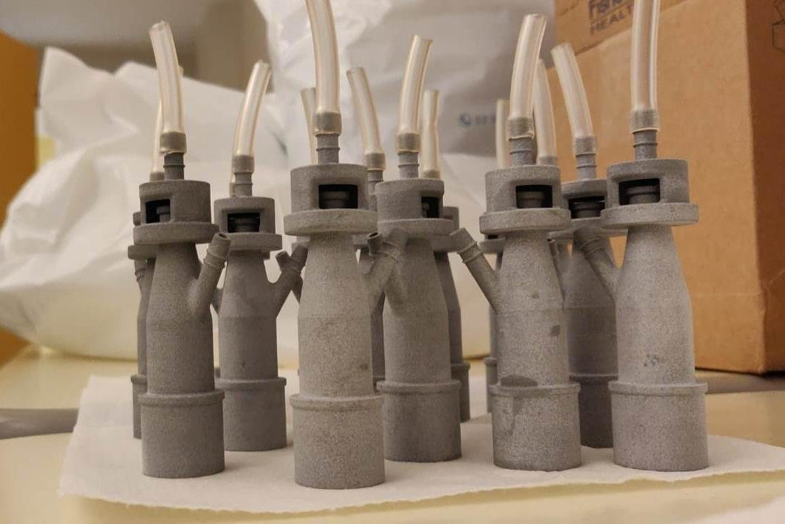 3D printed life-saving valves: already a dozen in operation