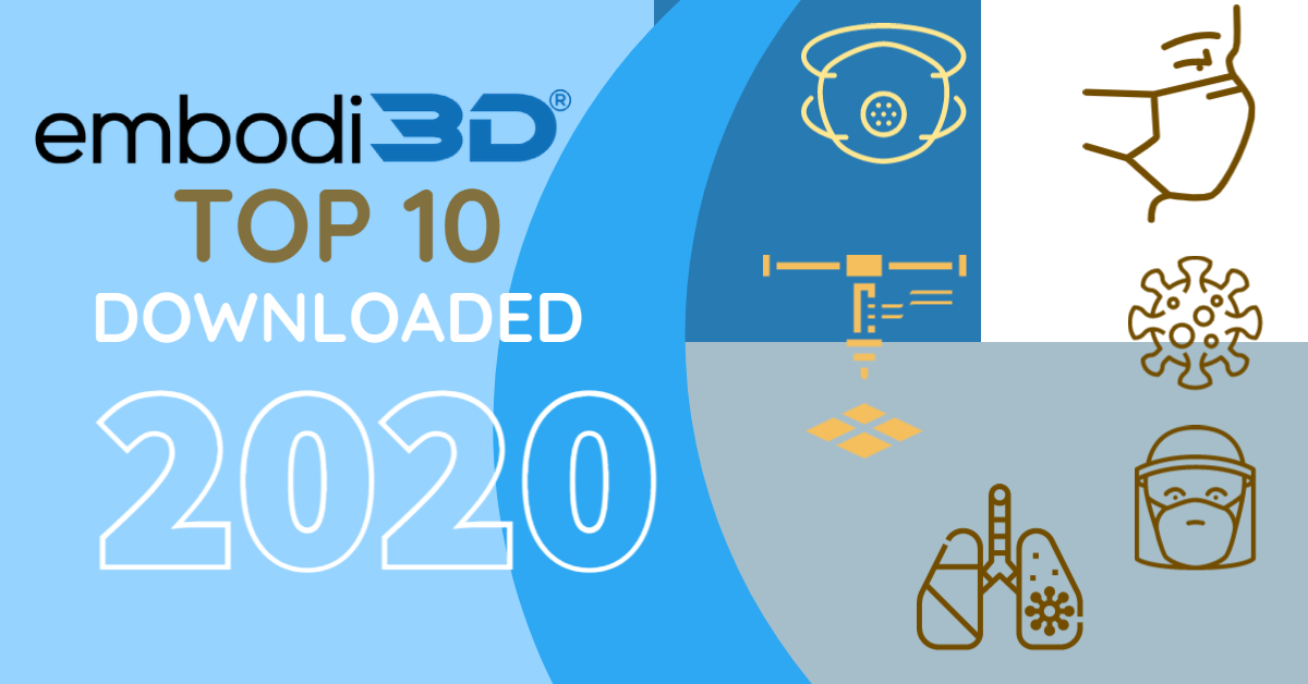 Embodi3d´s Top 10 downloaded of 2020!