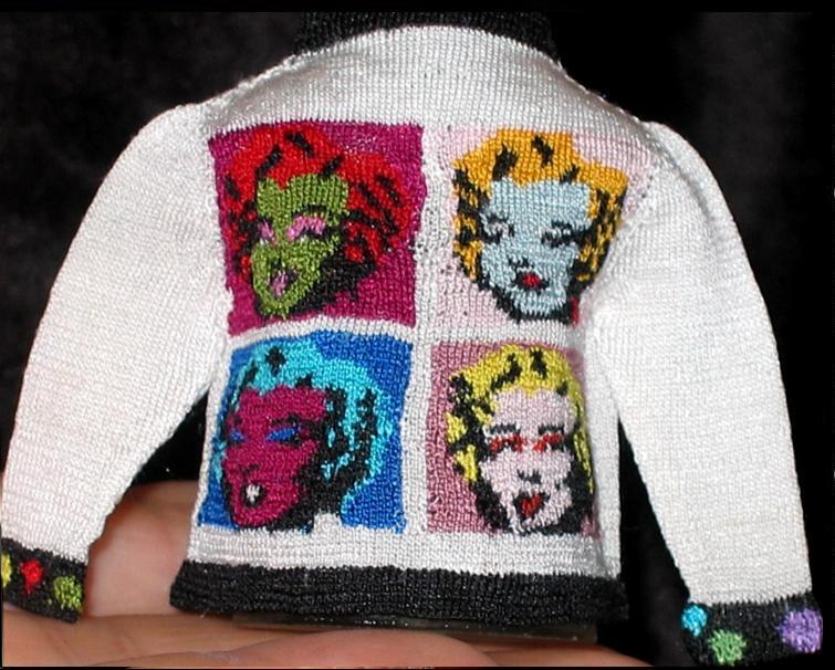 POP Art Sweater  by Althea Crome