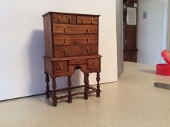 William & Mary Highboy by Elizabeth Gazmuri