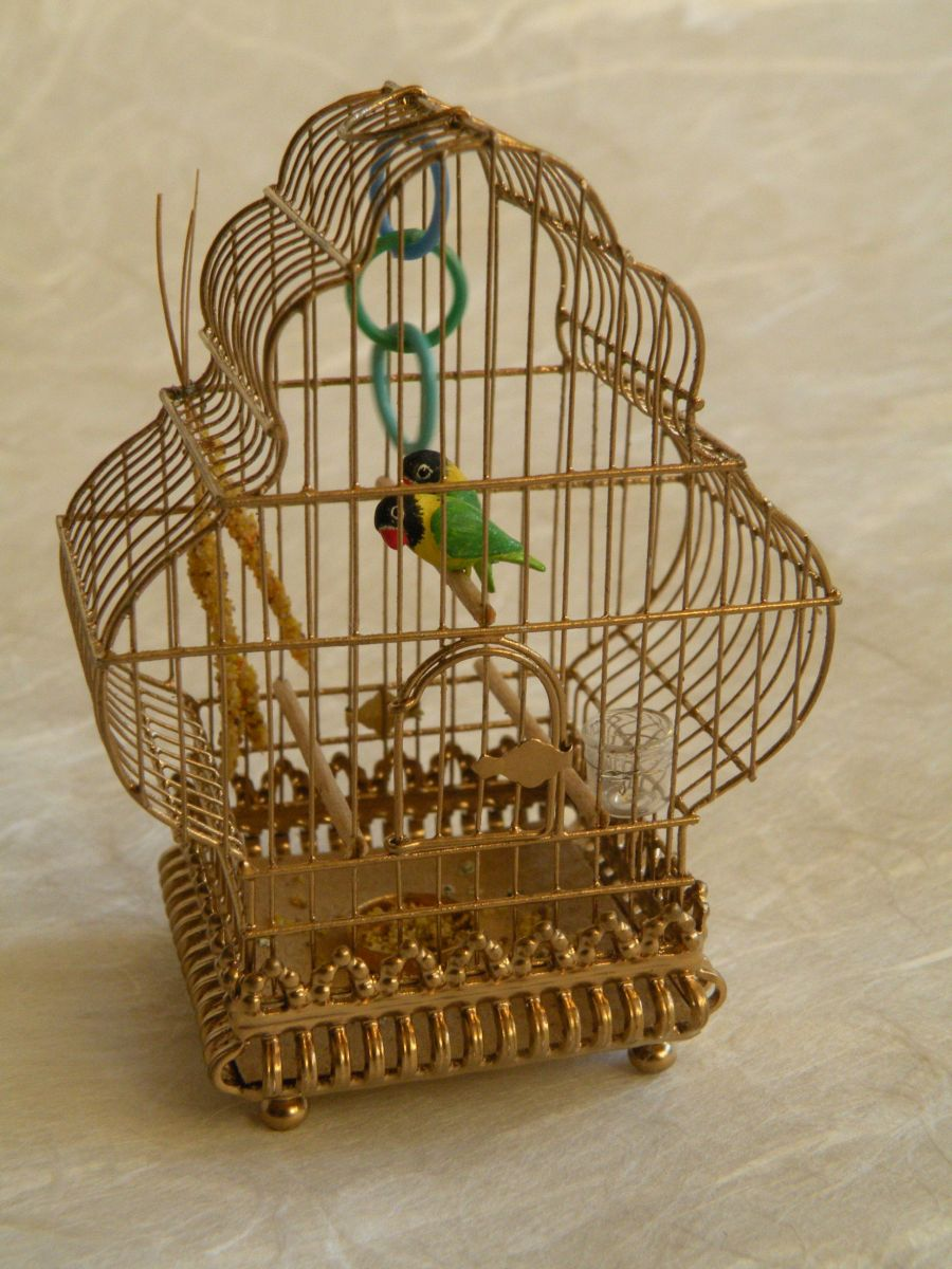 Bird Cage by Ursula Drybye-Skolvsted