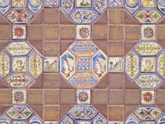 Tile floor by Tiny Ceramics