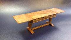 Draw leaf refectory table by Debora Beijerbacht