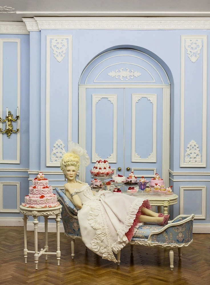 Delicieux Marie Antoinette By Maria Jose Santos