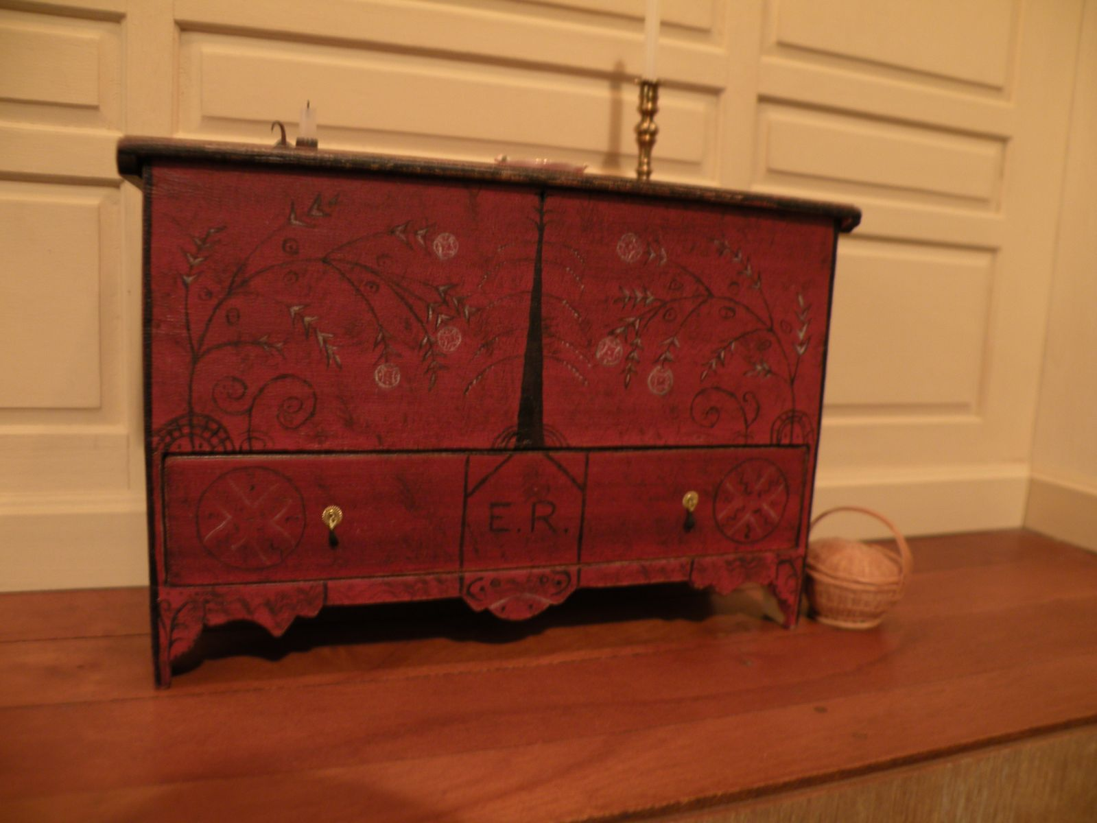 Painted Chest by James Hastrich