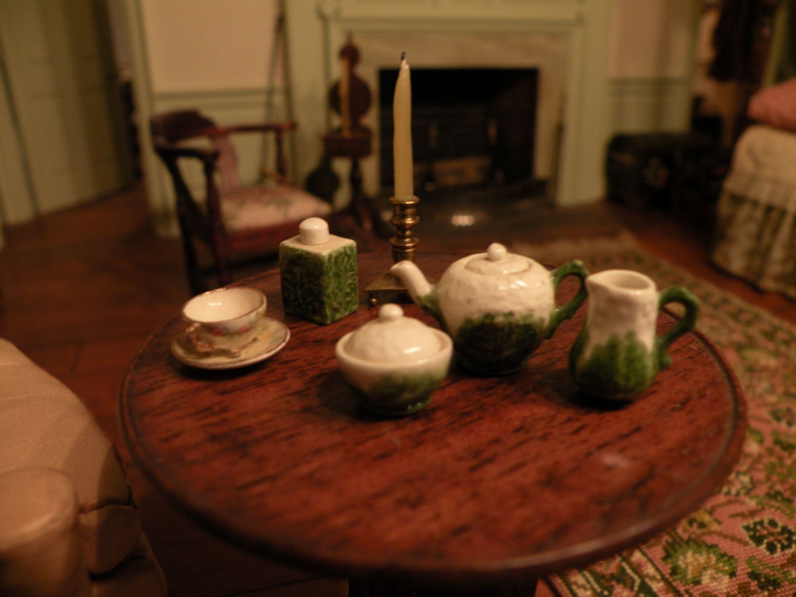 Cauliflower Tea Set by Lynn Collins