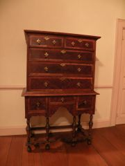 William & Mary High Chest by Linda LaRoche