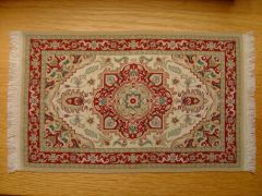 Persian rug by Lisa Salati