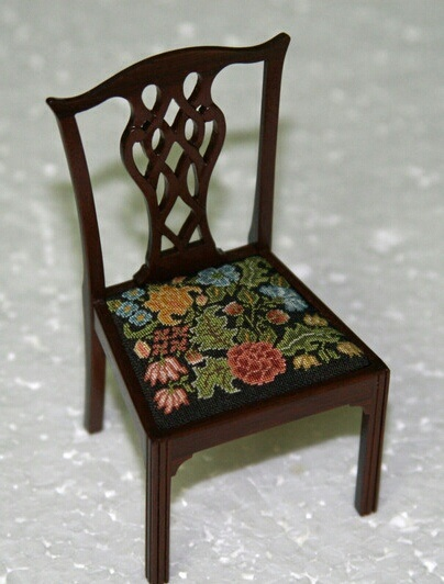 Chippendale chair by Annelle Ferguson