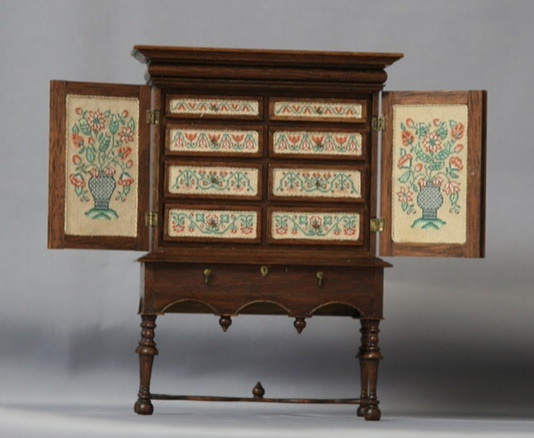 William and Mary Cabinet by Annelle Ferguson
