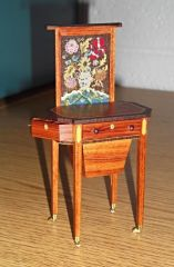 Federal sewing table by Elga Koster