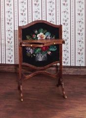 18th Century fire screen by Elga Koster