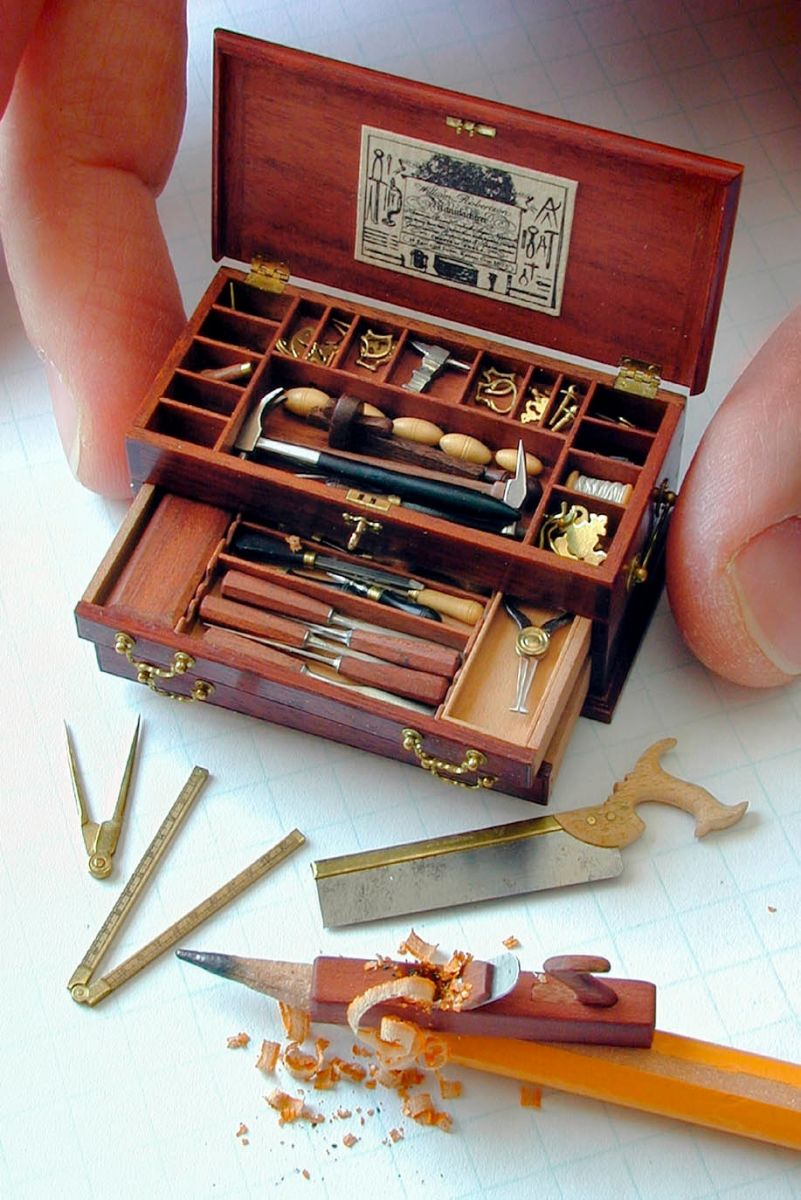 18th c. Gentleman's Tool Chest by Wm. R. Robertson