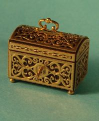 Gold Jewel Casket by Wm. R. Robertson