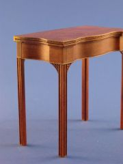 Rhode Island Card Table by Wm. R. Robertson