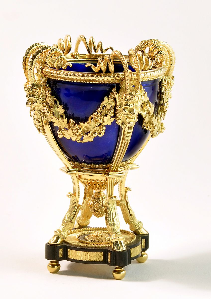 Fabergé urn in miniature by Jens Torp