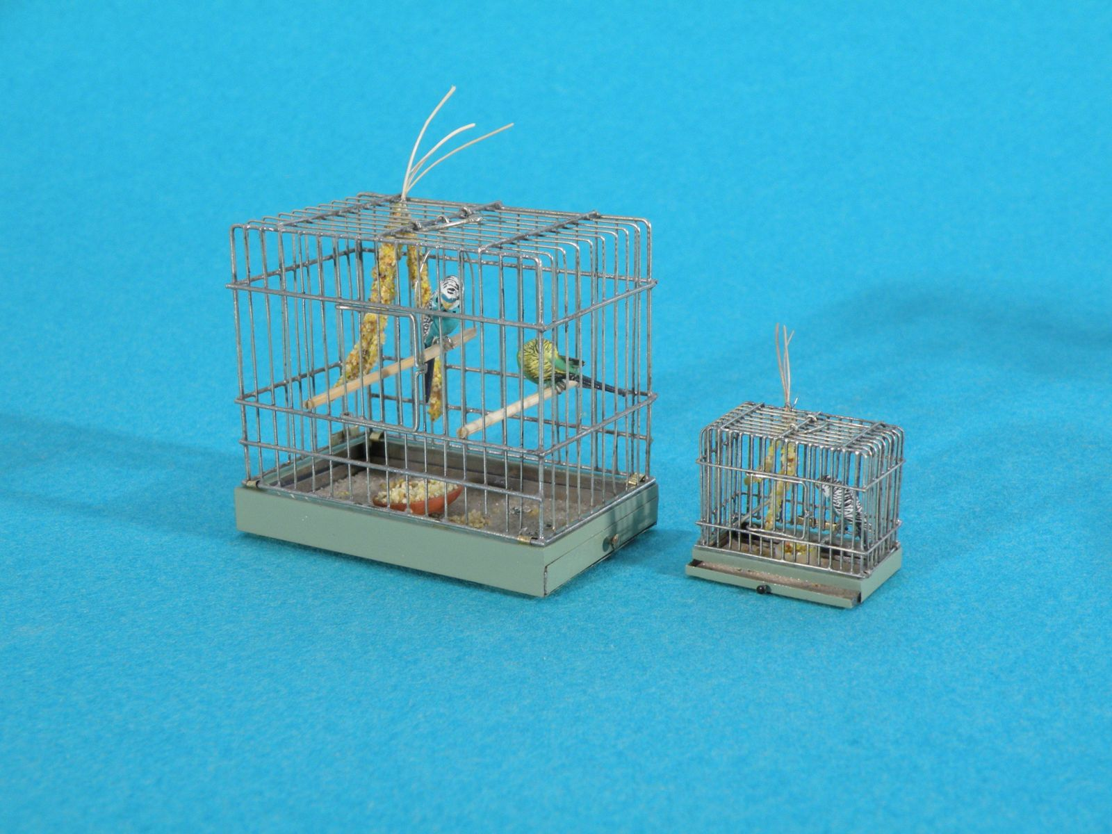"1"" & 1/2"" scale Bird Cage by Ursula Dyrbye-Skovsted"