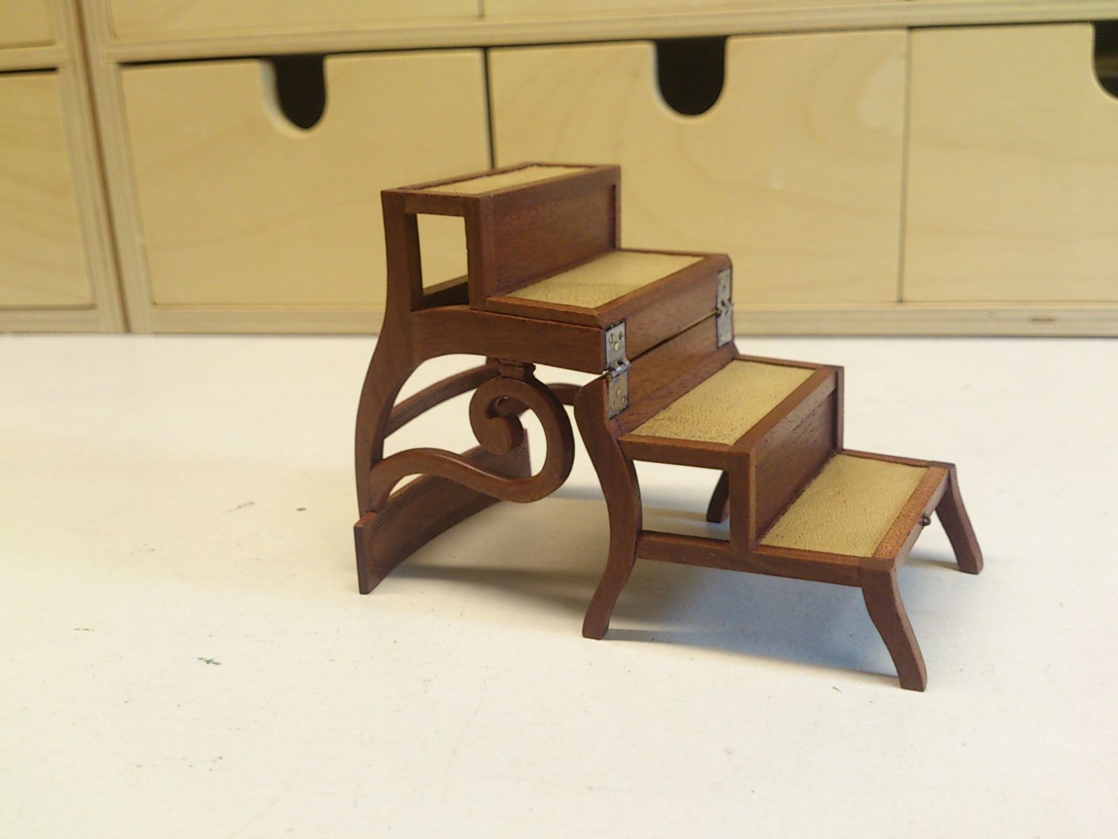 Regency step ladder chair by Debora Beijerbacht