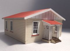 1/48th 1920s New Zealand Railway house