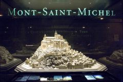 Musée des Plans-relief (Paris) - Mont Saint Michel