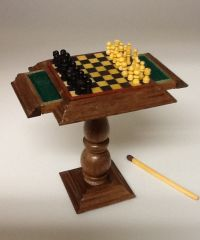 Chess Table by Gradus Ulfman