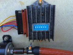 Voltage regulator with Thermax strip