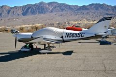 565SC in Death Valley for a recent fly-in
