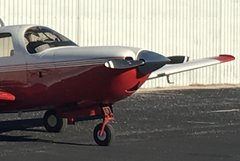 Mooney_M20R_ NACA_like_DUCT_Air_Inlet_on_Lower_Engine_Cowling-3_Also_Right_Side_FireWall_NACA_Duct