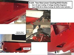 NACA Submerged Inlet Low Drag Cooling Air Ducts