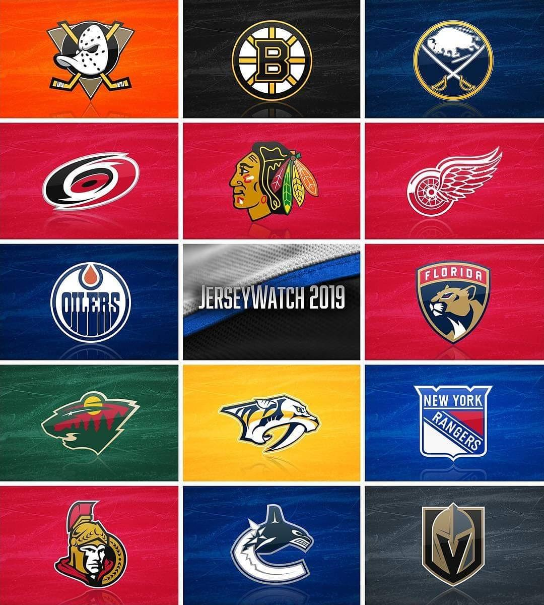 NHL JERSEY WATCH 2019