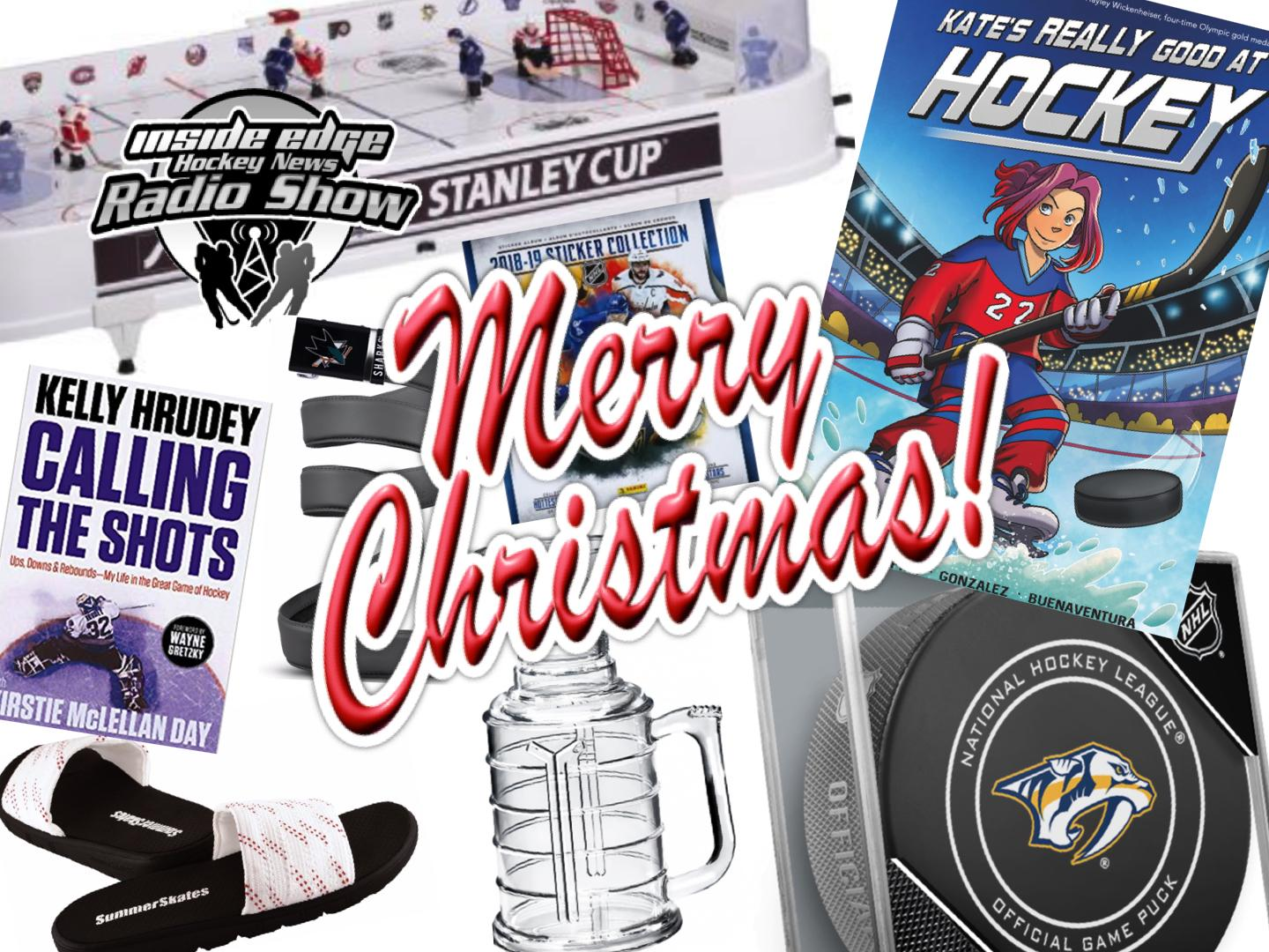 Getting Ready for Christmas Hockey Style