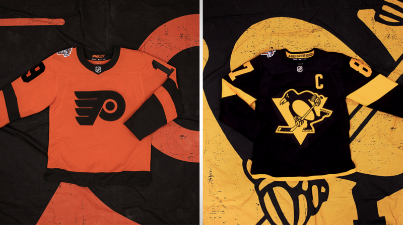 HOT TAKE: THE 2019 PITTSBURGH PENGUINS AND PHILADELPHIA FLYERS STADIUM SERIES JERSEYS