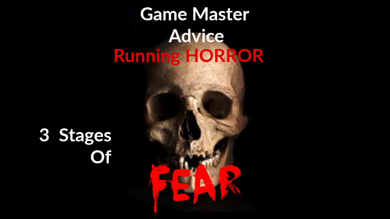 Keeper Advice: 3 Stages of Fear