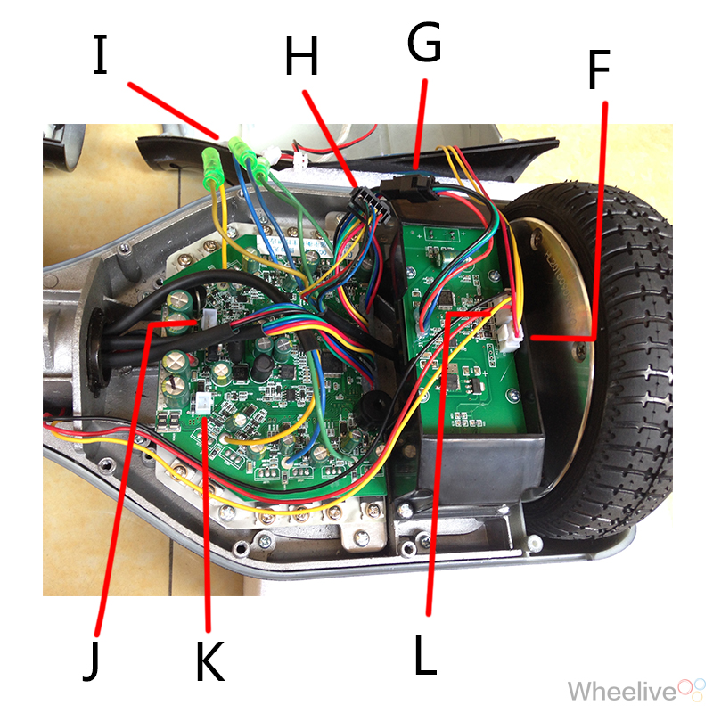 smart self balancing electric scooter hover board fault diagnosis and repair hoverboard