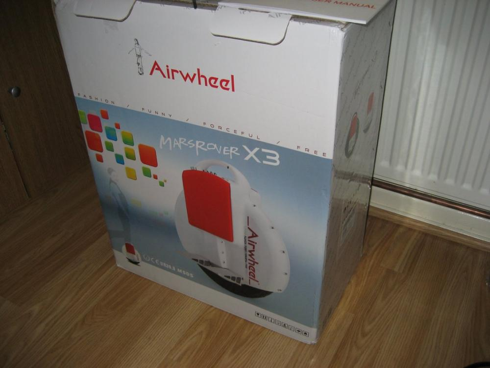 Airwheel X3 - boxed as new (SOLD) - Private Sales (secondhand
