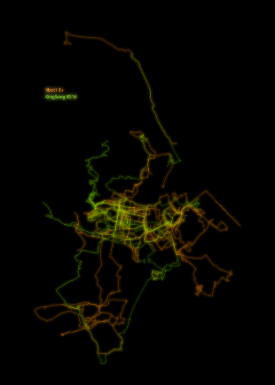 GPS/GPX data visualization - General Discussion - Electric